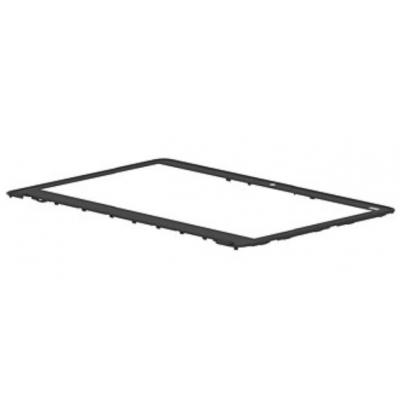 Hp notebook reserve-onderdeel: LCD Bezel, Black - Zwart