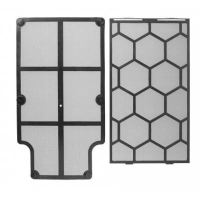 Corsair luchtfilter: Carbide 330R Front and Bottom Dust Filter - Zwart, Wit