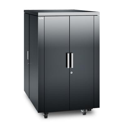 APC NetShelter CX 24U Geluiddempende 'Server Room in a Box', Donker Grijs Rack