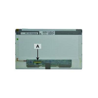 2-power notebook reserve-onderdeel: 10.1'' WSVGA 1024x600 LED Glossy Dell Latitude 2100 - Zwart
