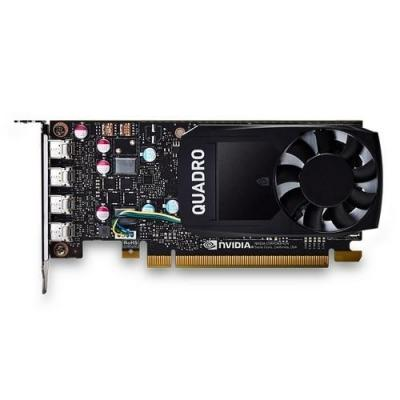 Dell videokaart: NVIDIA Quadro P600 2 GB GDDR5, 4 x Mini DisplayPort