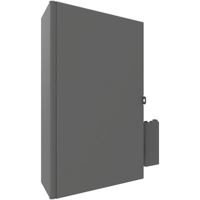 SmartMetals Afsluitbare mini-PC/thin client behuizing, max. 397 x 218 x 100mm cpu steun - Grijs