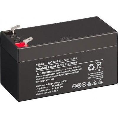 CoreParts MBXLDAD-BA005 UPS batterij - Zwart
