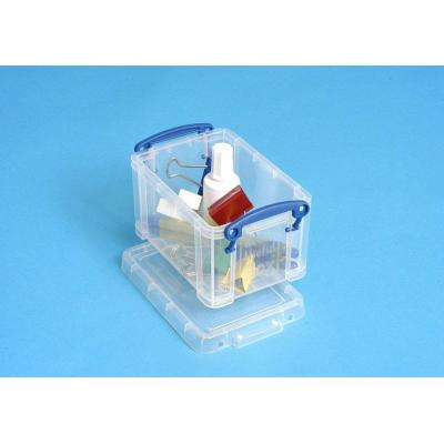 Really useful boxes : 0.7L Box Transparant