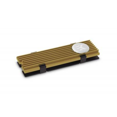 EK Water Blocks M.2 NVMe Heatsink - Gold Hardware koeling - Goud