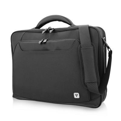 "V7 15.6"" Elite Adjustable Laptop Case Laptoptas - Zwart"