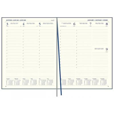 Staples kalander: Agenda SPLS Paris 170x220 7d2p 18md zw