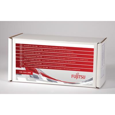 Fujitsu 3656-200K Printing equipment spare part - Zwart