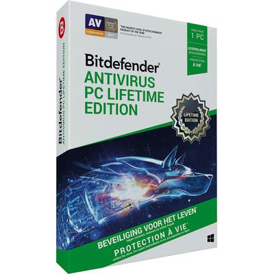Bitdefender Antivirus Plus (Lifetime / 1 Users) Databeveiligingssoftware