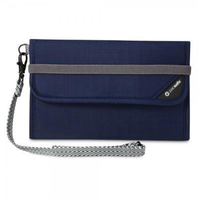 Pacsafe portemonnee: V250 - Blauw, Navy