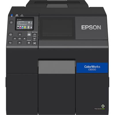 Epson ColorWorks CW-C6000Ae Labelprinter - Zwart,Cyaan,Magenta,Geel