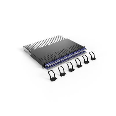 PATCHBOX ® 365 Cat.6a (UTP, Violet, 0.8m / 8RU) Netwerkkabel