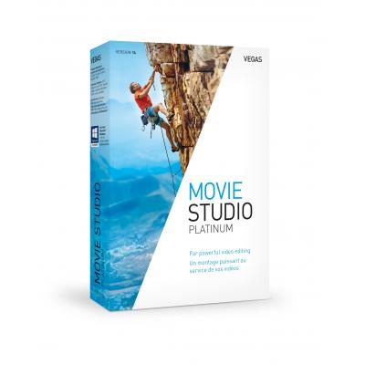 Magix grafische software: VEGAS Movie Studio 14 Platinum