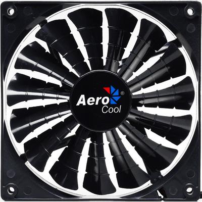Aerocool Hardware koeling: Shark Fan Black Edition 14cm - Zwart