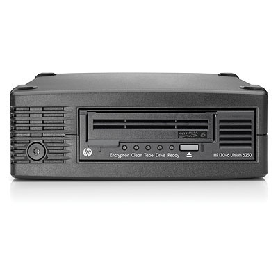 Hewlett Packard Enterprise StoreEver LTO-6 Ultrium 6250 External Tape drive - Zwart
