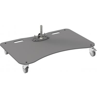"SmartMetals Wheeled base plate up to 127 cm (50"") , single construction (with pin) AV stand accessoire - ....."
