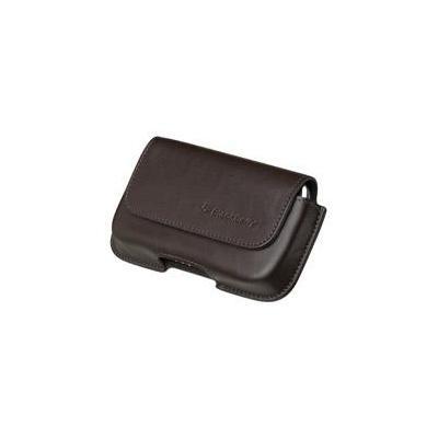 BlackBerry Leather Horizontal Holster Mobile phone case - Bruin