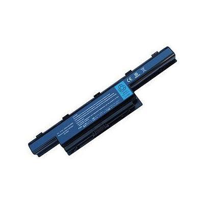 Acer batterij: Battery Li-Ion 5800mAh - Zwart