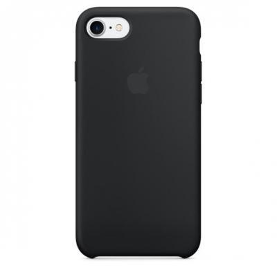 Apple mobile phone case: Siliconenhoesje voor iPhone 7 - Zwart