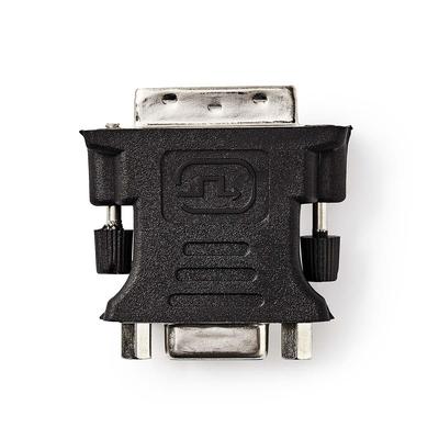 Nedis DVI - VGA-Adapter, DVI-I 24+5-Pins Male - VGA Female, Zwart Kabel adapter