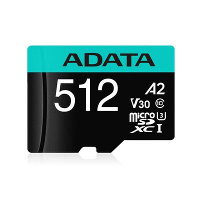 ADATA Premier-Pro-microSDXC/SDHC Flashgeheugen - Zwart, Blauw