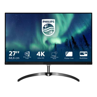 "Philips E-Line 27"" 4K UHD Monitor - Zwart"