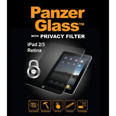 PanzerGlass Apple iPad 2/3 + Retina Big-size tablets Privacy - Transparant