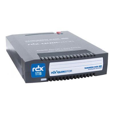 Overland-tandberg tape drive: RDX QuikStor - Zwart