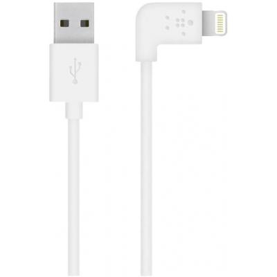 Belkin USB kabel: Flat Lightning - Wit