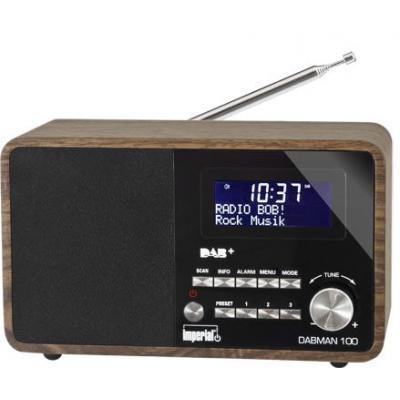 Telestar radio: DABMAN 100 - Zwart