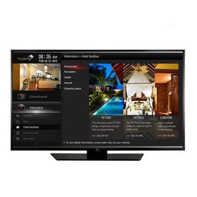 Lg led-tv: 40LX541H - 40'', 1920 x 1080, 16:9, DVB-T2, DVB-C, DVB-S2, 10W+10W, 100~240V, 50/60Hz - Zwart