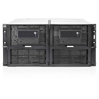 Hewlett Packard Enterprise D6000 SAN - Zwart, Metallic