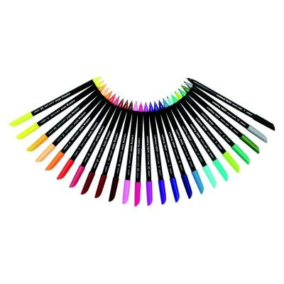 Edding viltstift: 1200 - Zwart, Multi kleuren
