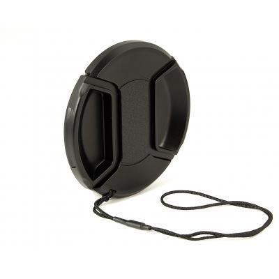 Kaiser fototechnik lensdop: Snap-On Lens Cap, ø 82 mm - Zwart