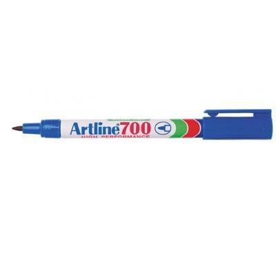Artline 700 Marker - Blauw, Wit