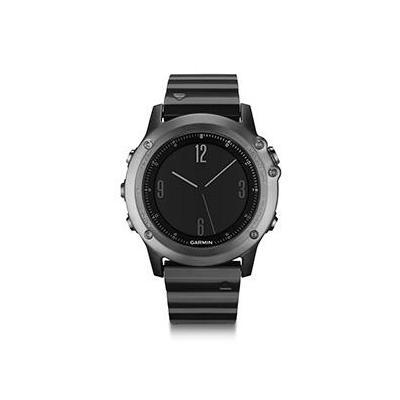 Garmin sporthorloge: Fenix 3 - Zwart, Metallic