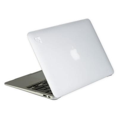 Gecko laptoptas: - 'Clip On' Beschermhoes voor Apple MacBook Air 11 inch (Frozen Wit)