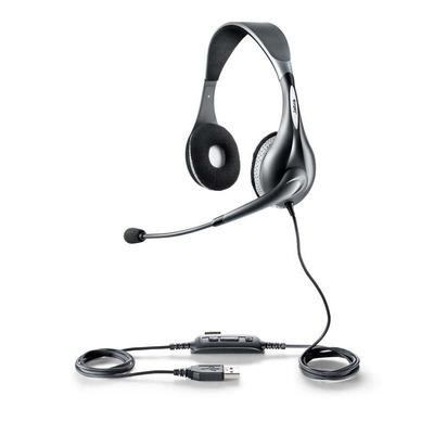 Jabra headset: UC VOICE 150 MS duo - Grijs