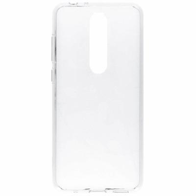 Clear Backcover Nokia 5.1 Plus - Transparant / Transparent Mobile phone case