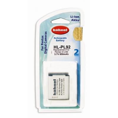 Hahnel HL-PL92 for Pentax Digital Camera - Wit