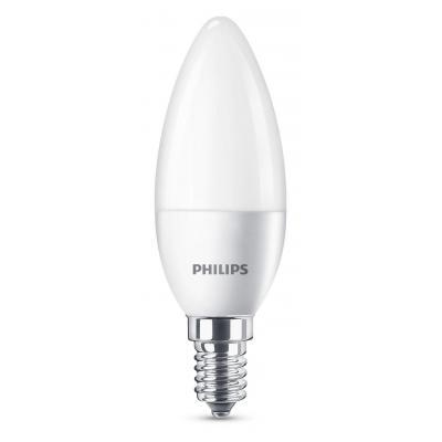 Philips led lamp: Kaars 8718696485460 - Wit