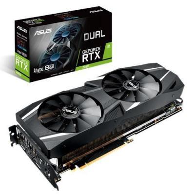Asus videokaart: Dual GeForce RTX 2080