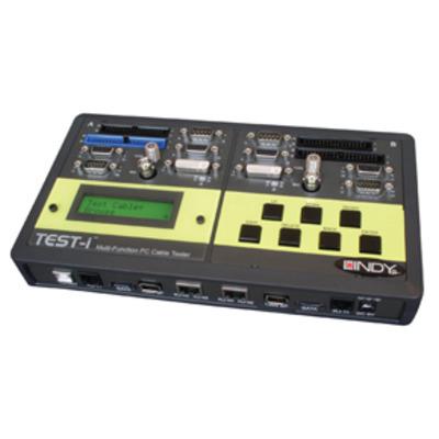 Lindy 43019 Netwerkkabel tester - Zwart