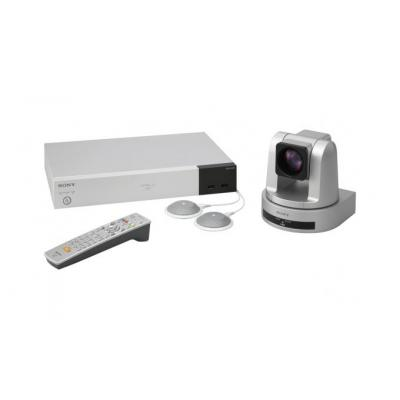 "Sony videoconferentie systeem: 1/2.8 ""Exmor"" CMOS, 2.1 MP, 1920 x 1080, 29.97 fps, HDMI, RS-232C, DVI-I"