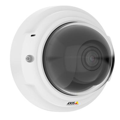 Axis P3374-V Beveiligingscamera - Zwart, Wit
