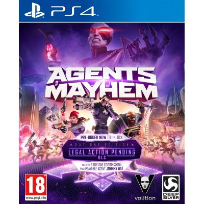 Koch media game: Agents of Mayhem (Day One Edition) (incl. 6 Character Skins)  PS4