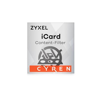 Zyxel iCard Cyren CF 1Y Software licentie