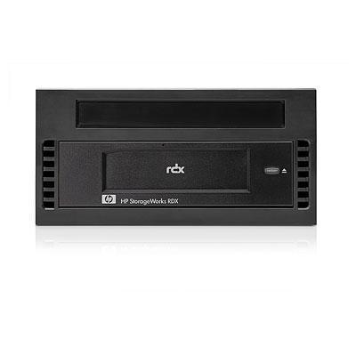 Hewlett packard enterprise tape drive: StorageWorks HP RDX320 Removable Disk Backup System DL Server Module - Zwart