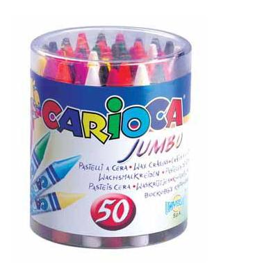 Carioca potlood: POT 50 JUMBO WASKRIJT ASS.