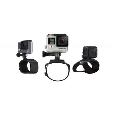Gopro camera-ophangaccessoire: The Strap, Hand + Wrist + Arm + Leg Mount - Zwart